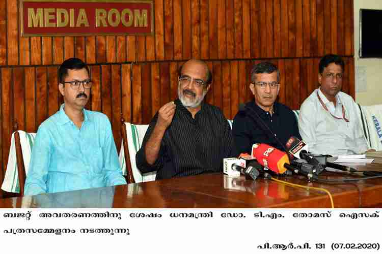 Kerala Finance Minister Thomas Isaac holds meeting after Budget presentation